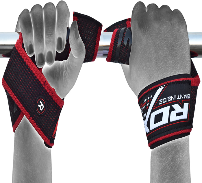 Rdx Bodybuilding Gym Gloves Training Workout Weight: RDX Nylon Polyester Straps Weight Lifting Training Gym Bar