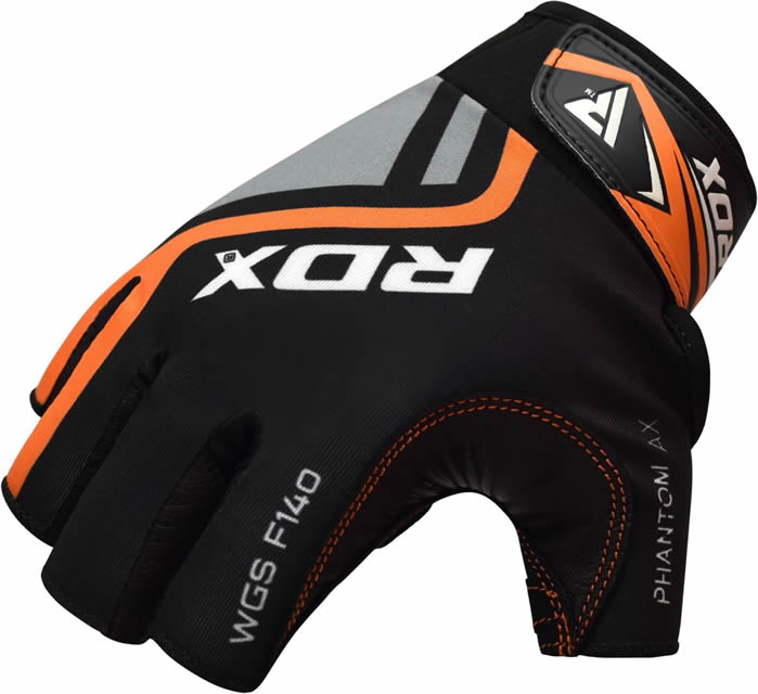 Rdx Ladies Bodybuilding Weight Lifting Gym Gloves: RDX Cowhide Leather Weight Lifting Gym Gloves Grip Fitness